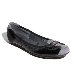 Puma Zandy Sporty Ballet Flats with Suede Toe